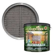 Cuprinol Ducksback Grey Shed & Fence Treatment 9L | Departments | DIY at  B&Q.