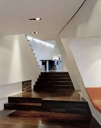 staircase lighting design. Futuristic Loft Interior Wooden Stair Decoration Staircase Lighting Design