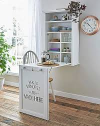 wall mounted foldable kitchen table