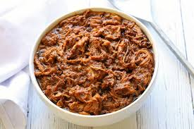 slow cooker pulled pork with bbq sauce