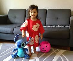 diy lilo costume stitch plush doll