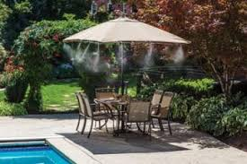 MistCoolingcom  Mist Cooling Systems India  Misting Systems Backyard Misting Systems