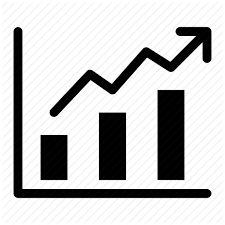 Sales Chart Icon Buntu Currency By Artworkbean