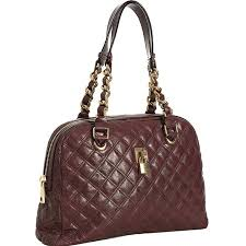 Marc Jacobs 'Stam – Polished' Quilted Satchel & The luscious Marc Jacobs Bordeaux Quilted Leather Karlie Satchel shows  sophistication with its exquisite. Adamdwight.com