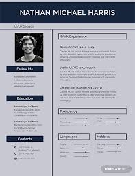 free cv template download with photo free modern resume template download 200 resume templates in psd