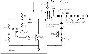 geiger counter circuits schematic 500 volt geiger counter