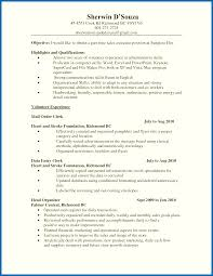 Objective Section Of Resume Examples Skills Portion Of Resume Useful Part Time Resume Objective Statement 24