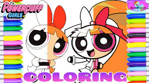 Powerpuff Girls Z Blossom Momoko Coloring Book Coloring Videos