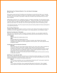 10 Personal Statements For Resumes Emails Sample