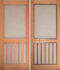 traditional screen storm door designs