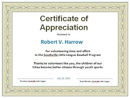 Certificate Of Appreciation Free Download 30 Free Certificate Of Appreciation Templates And Letters