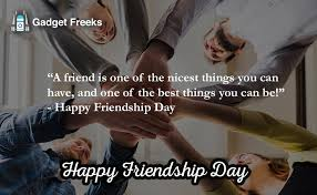 inspirational happy friendship day 2019
