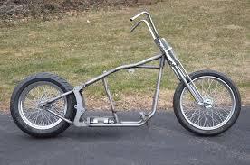 kraft tech softail bobber chopper frame rolling chassis roller
