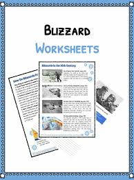 Natural Disaster Worksheets, Facts & Historical Information For Kids