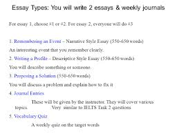 academic writing iv spring meet twice a week m w sec  8 essay