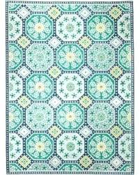 blue green rug and awesome area home throughout rugs kailani indoor outdoor blue green
