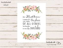 Mothers Day Card Template Enchanting Mother's Day Card Printable DIY Happy Mother's Etsy