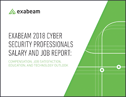 security salary 2018 cyber security professionals salary and job report exabeam