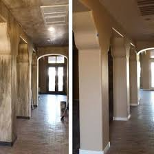 before and after interior residential painting arizona painting company