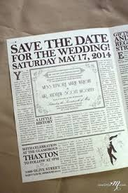 Custom Newspaper Template Newspaper Wedding Invitation Template Beautiful Custom Vintage