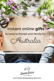 image of someone ordering australia gift ideas and sending flowers