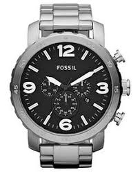 fossil men s chronograph nate black tone stainless steel bracelet fossil watch mens chronograph nate stainless steel bracelet 50mm jr1353 fossil jewelry