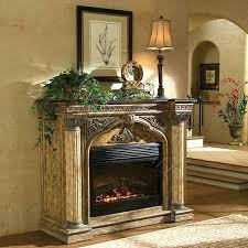 electric fireplace with stone arch cast stone electric fireplace electric stone fireplace heater