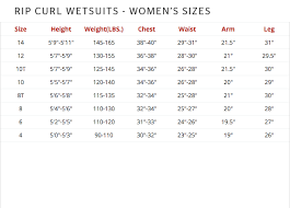 Rip Curl Dawn Patrol Size Chart Rip Curl Surf Booties Hansens Surf
