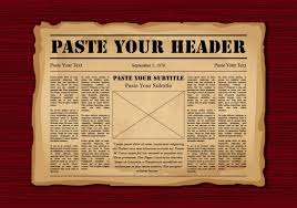 Vintage Newspaper Template Free 20 Free Vintage Newspaper Template Pictures And Ideas On Carver Museum