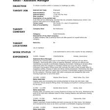 Resume Templates For Sales Positions General Job Objective Examples General Resume Objectives Examples 22