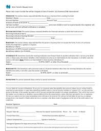 Foreign / International Wire Transfer Request Form