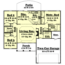 interesting decoration 1400 sq ft house plans ranch style house plan 3 beds 200 baths 1400