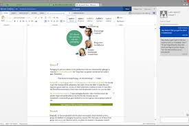 word powerpoint online microsoft is bringing chat to its word and powerpoint web apps the