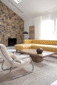 large size of living room yellow fabric tufted sectional sofa rectangle wood coffee table gray