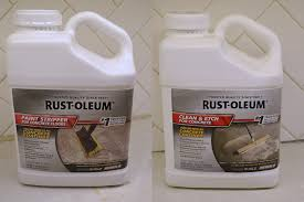 rustoleum s for stripping and etching concrete