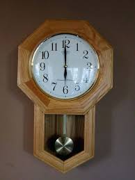 linden wall clock with pendulum oak pendulum wall clock quartz gorgeous linden quartz wall clock with