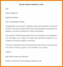 Job Offer Rejection Letter Sample Free Employment Rejection Email Job Rejection Email Template Rejection