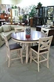 round pub table and chairs set amazing 4