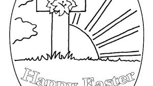 Religious Easter Coloring Sheets Free Printable Coloring Pages
