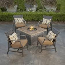 costco fire pit table sets marvelous