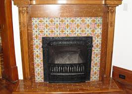 antique fireplace tile. antique fireplace makeover project with bonita reproduction tile c