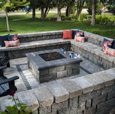 how to build a stone patio bench ideas