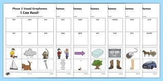 If you would like your children to sound out independently, simply mute the video. Phase 3 Phonics Activity Sheets Twinkl Resources