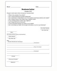 Business Letters Practice Writing Worksheet For Kids Jumpstart