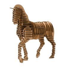 aliexpress com oyuncak 3d puzzle horse craft paper model kids toys diy kit cardboard animalspuzzles