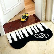 piano area rugs piano rug piano keyboard area rug new fashion irregular piano keyboard white black piano area rugs