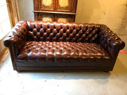 brown tufted leather chesterfield sofa for 5 sofas id f brown chesterfield sofa leather