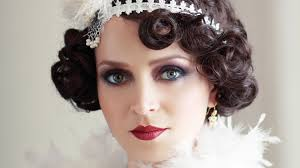 Gatsby Hair Style 25 flirty flapper hairstyles for the best vintage glam looks 2539 by stevesalt.us