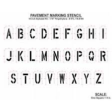 paint stencils letters 18 inch alphabet marking paint stencil kit alphabet and number