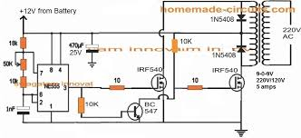 power inverter circuit square wave concept circuit diagram centre 6 best ic 555 inverter circuits explored homemade circuit projects power inverter circuit square wave concept circuit diagram centre